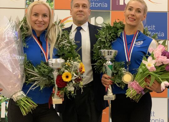 vasakult Lilian Rannu, Ergo Metsla (president), Jana Teder